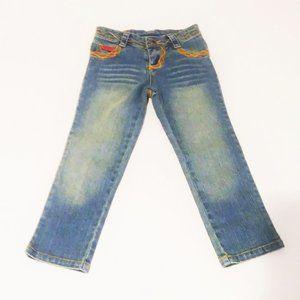 Lipstik Faded Blue Jeans Size 5
